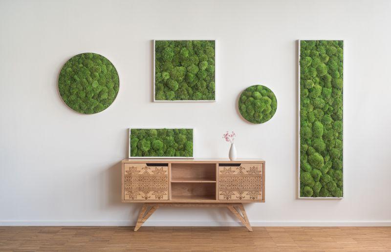 wandbegr nung pflanzenwand mooswand pflanzenbilder stylegreen vertikalbegr nung begr nte w nde. Black Bedroom Furniture Sets. Home Design Ideas