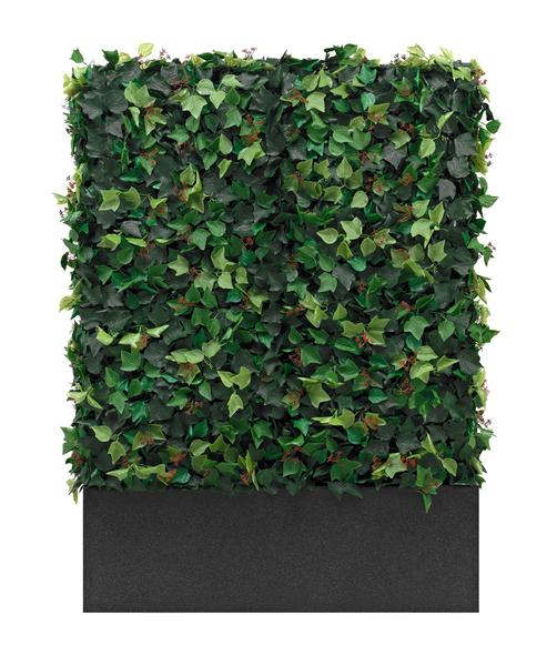 wetterfeste efeu hecke dekohaus innenbegr nung und aussenbegr nung mit exklusiven kunstpflanzen. Black Bedroom Furniture Sets. Home Design Ideas