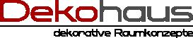 Dekohaus – Innenbegrünung und Aussenbegrünung mit exklusiven Kunstpflanzen Logo