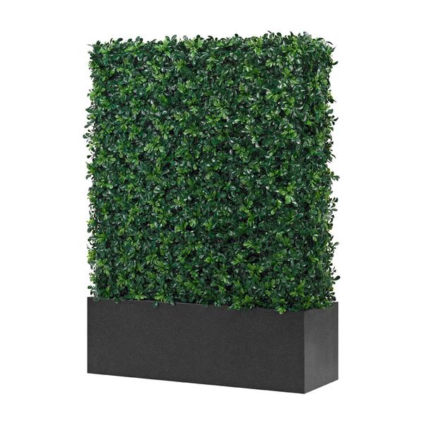 wetterfeste buchs hecke dekohaus innenbegr nung und aussenbegr nung mit exklusiven kunstpflanzen. Black Bedroom Furniture Sets. Home Design Ideas