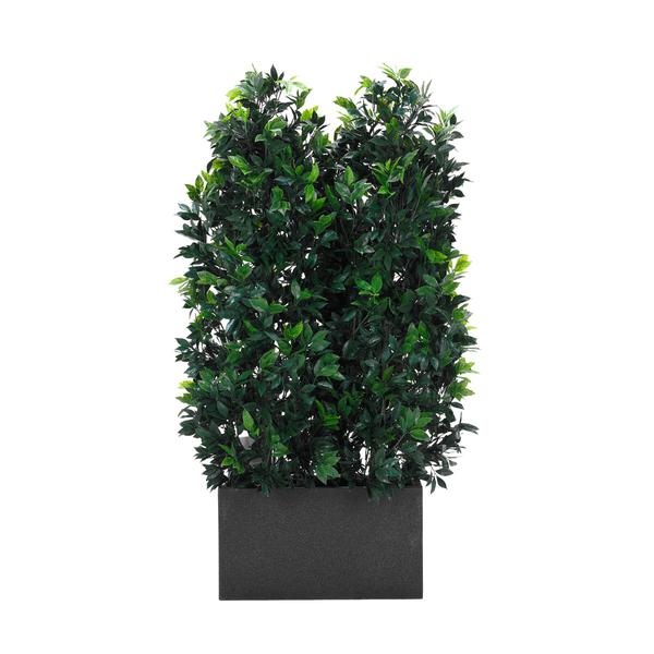 lorbeer hecke 2 dekohaus innenbegr nung und aussenbegr nung mit exklusiven kunstpflanzen. Black Bedroom Furniture Sets. Home Design Ideas
