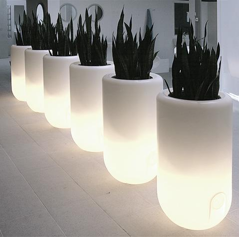 Kunstpflanzen leuchtende t pfe dekohaus innenbegr nung for Innendekoration basel